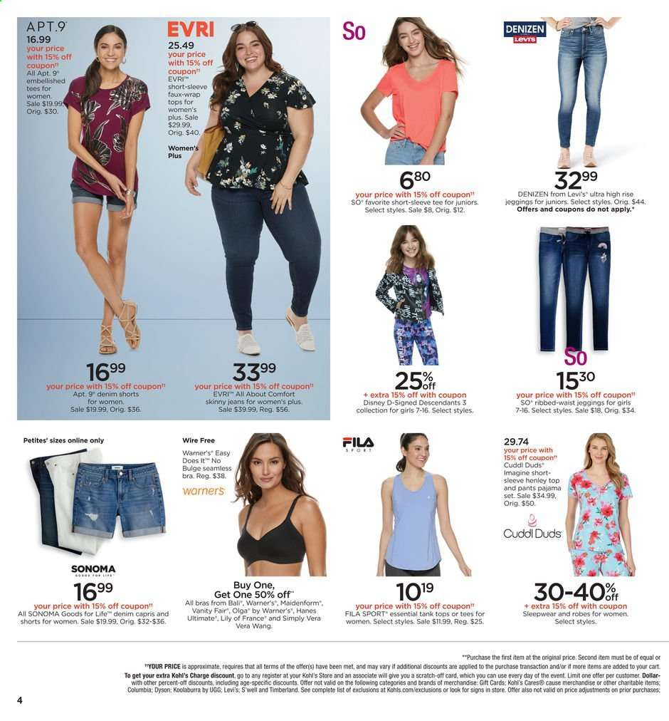 Kohl's flyer 07 21 2019 - 07 21 2019 | Weekly-ads us