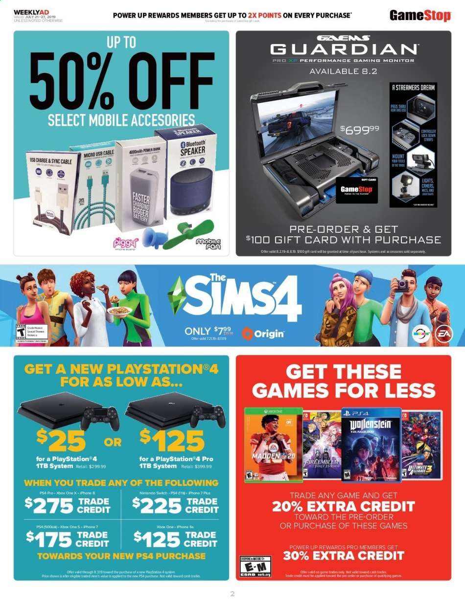 GameStop flyer 07 21 2019 - 07 27 2019 | Weekly-ads us