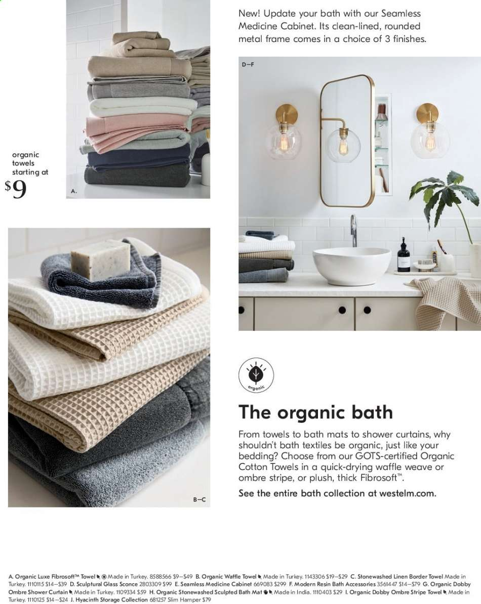 West Elm Flyer 07 01 2019 07 31 2019 Weekly Ads