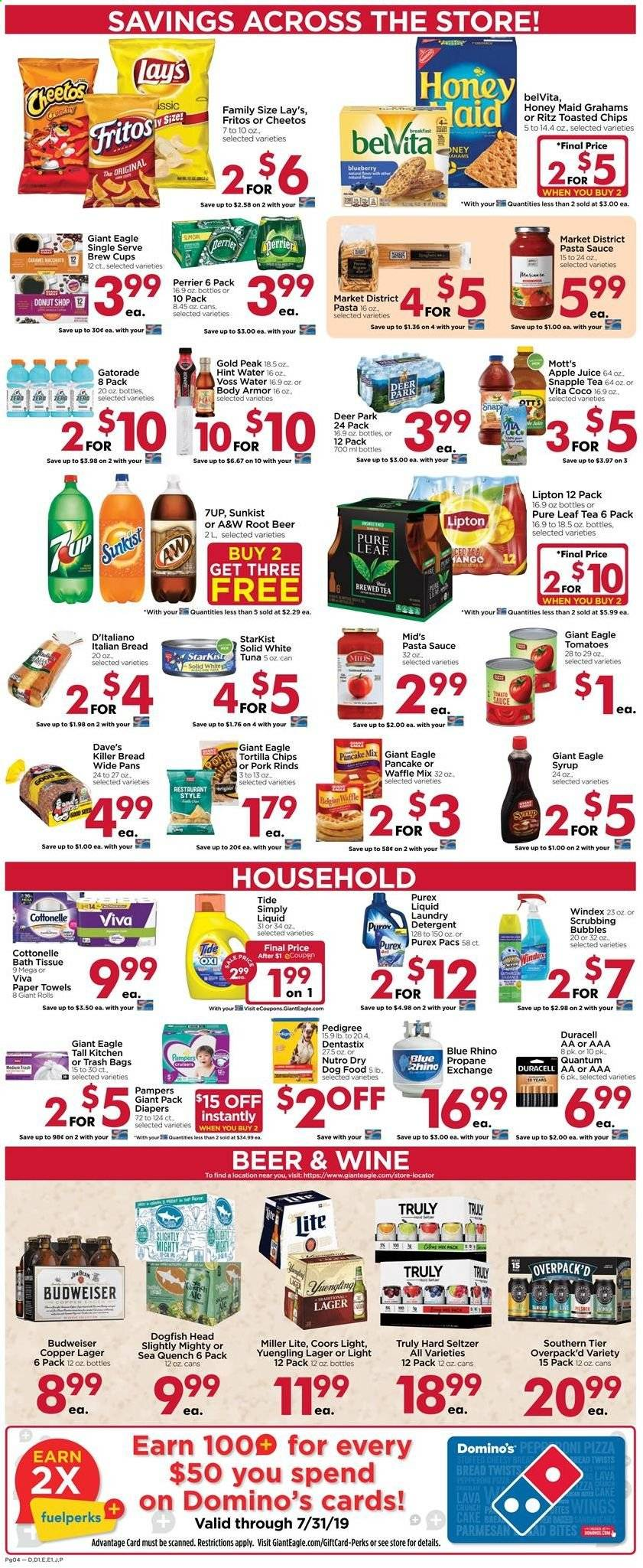 Giant Eagle Flyer  - 07.25.2019 - 07.31.2019. Page 4.