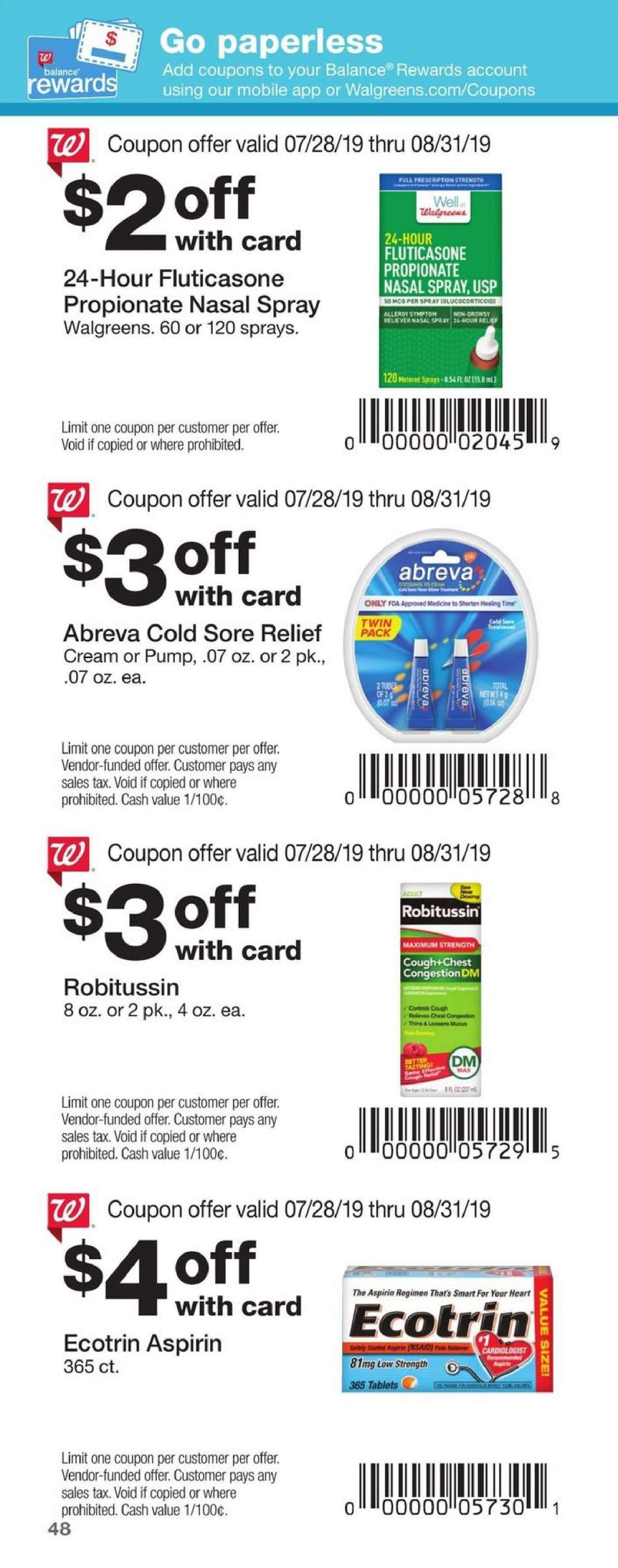 abreva coupon walgreens 2019