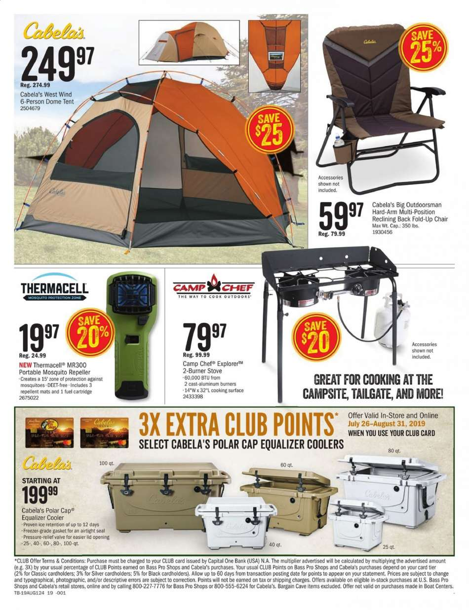 Fine Cabelas Flyer 07 26 2019 08 11 2019 Weekly Ads Us Gamerscity Chair Design For Home Gamerscityorg