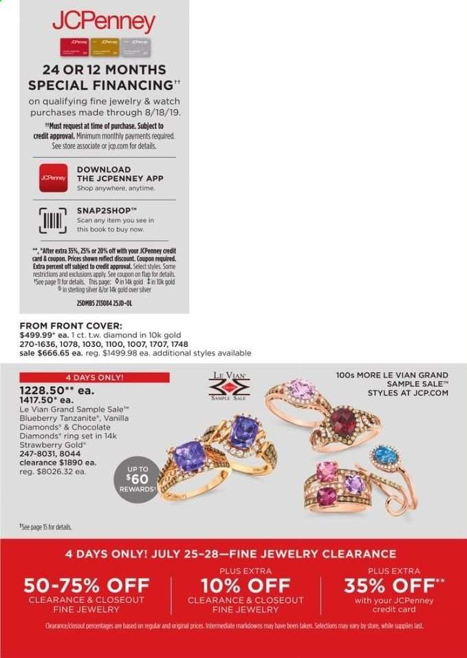 JCPenney flyer 07 25 2019 - 08 18 2019 | Weekly-ads us