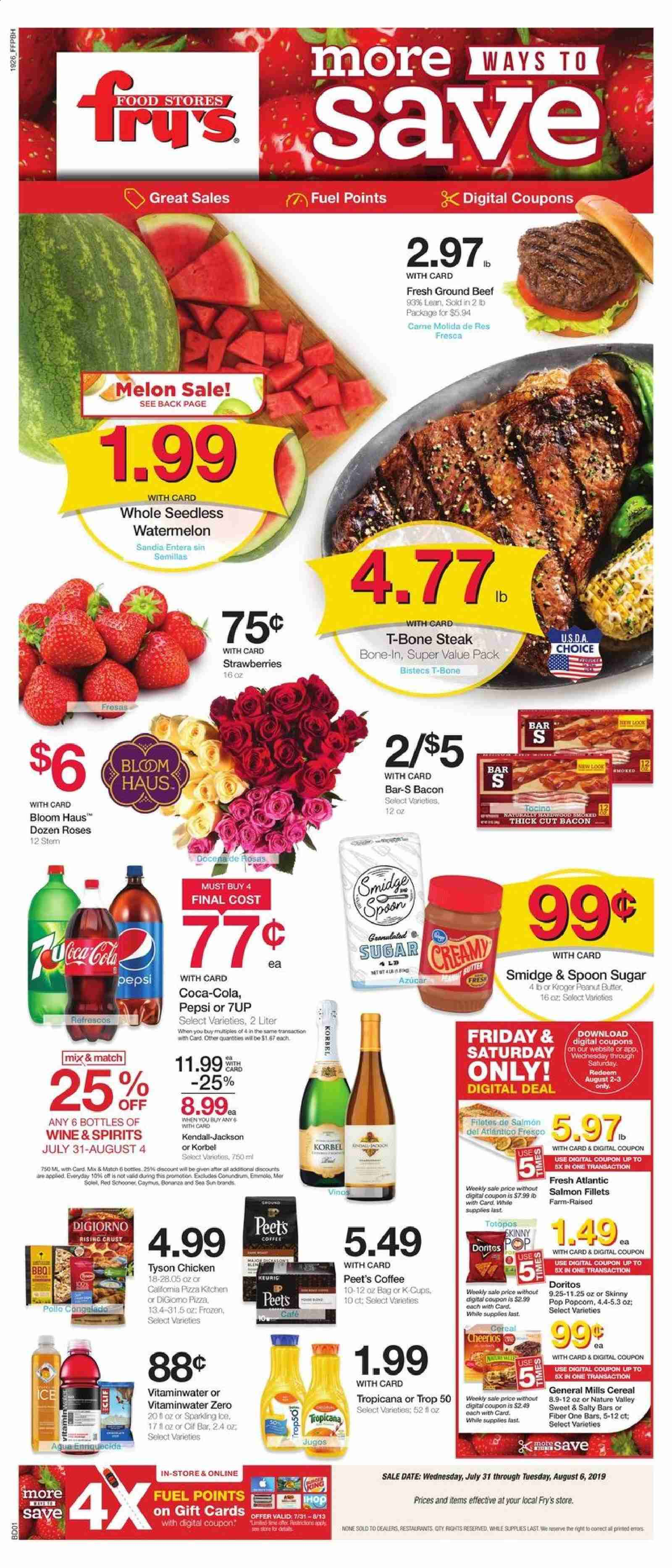 Fry's Flyer  - 07.31.2019 - 08.06.2019. Page 1.