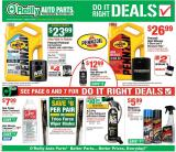 O'Reilly Auto Parts Flyer - 07.31.2019 - 08.27.2019.