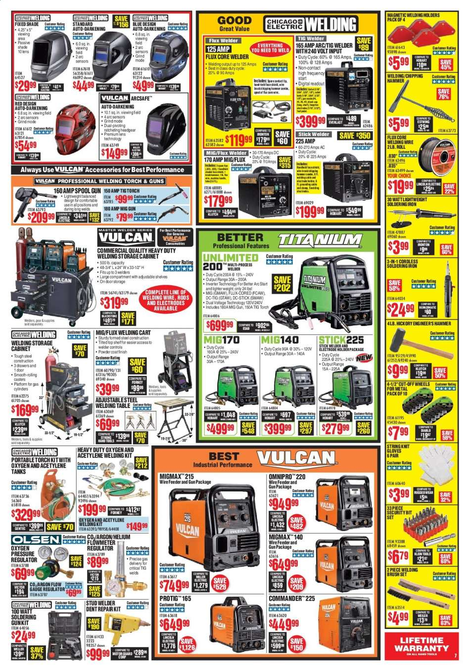 Harbor Freight flyer 08 01 2019 - 08 31 2019 | Weekly-ads us