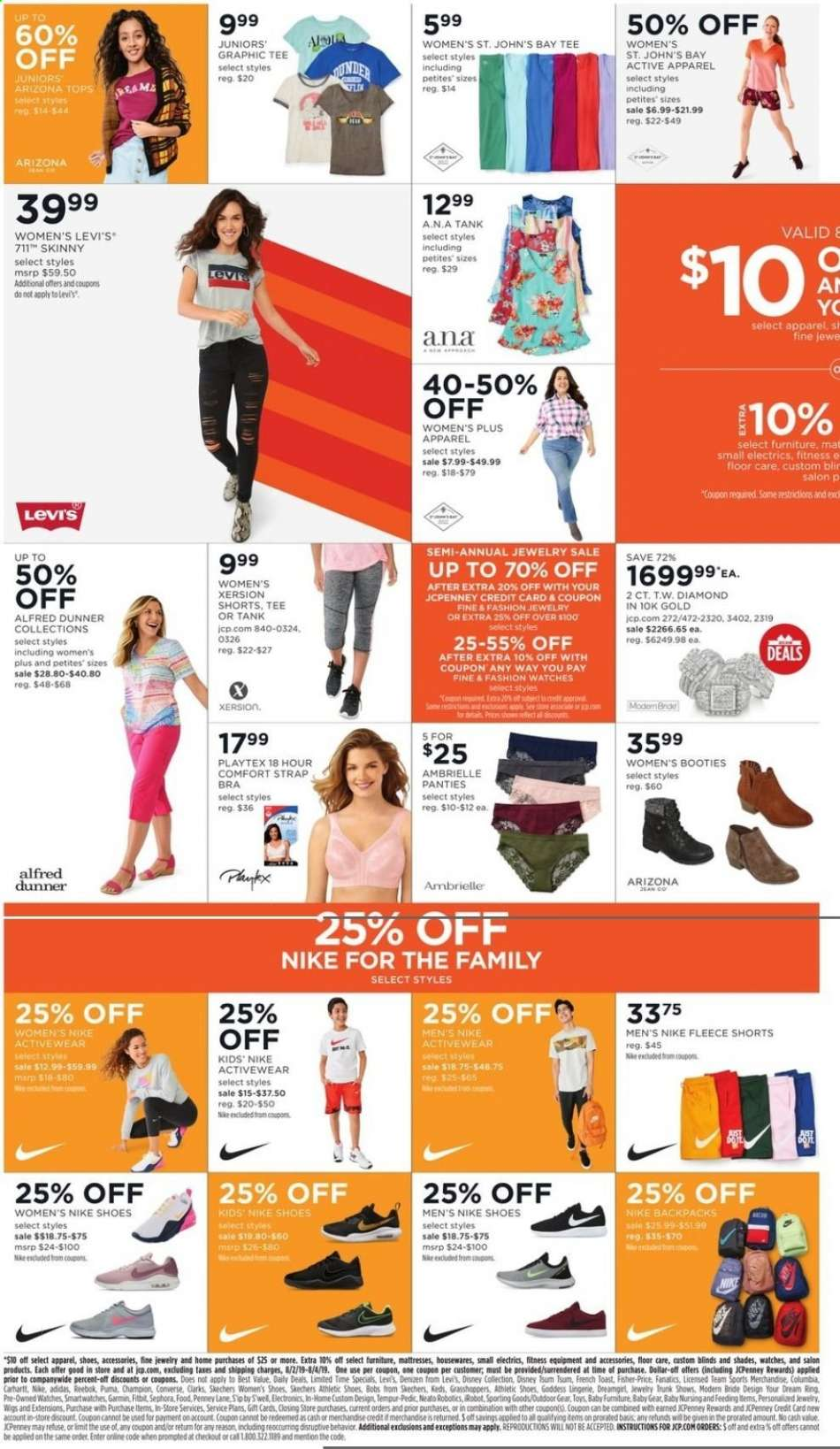 3198738e1eb03 JCPenney flyer 08.02.2019 - 08.04.2019 | Weekly-ads.us