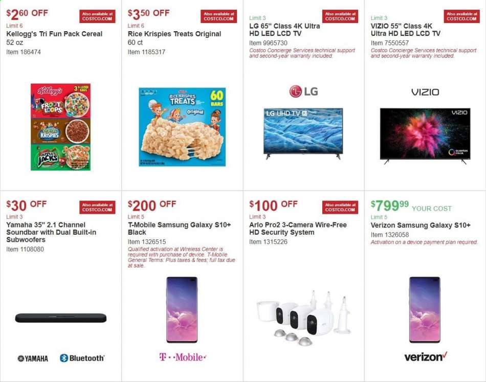 Costco flyer 08 07 2019 - 09 01 2019 | Weekly-ads us