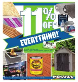 Menards Hastings, 3400 Osborne Dr E - store hours and ads | Weekly