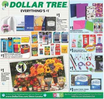 Dollar Tree - ad, flyer, circular, coupon and sales | Weekly-ads us