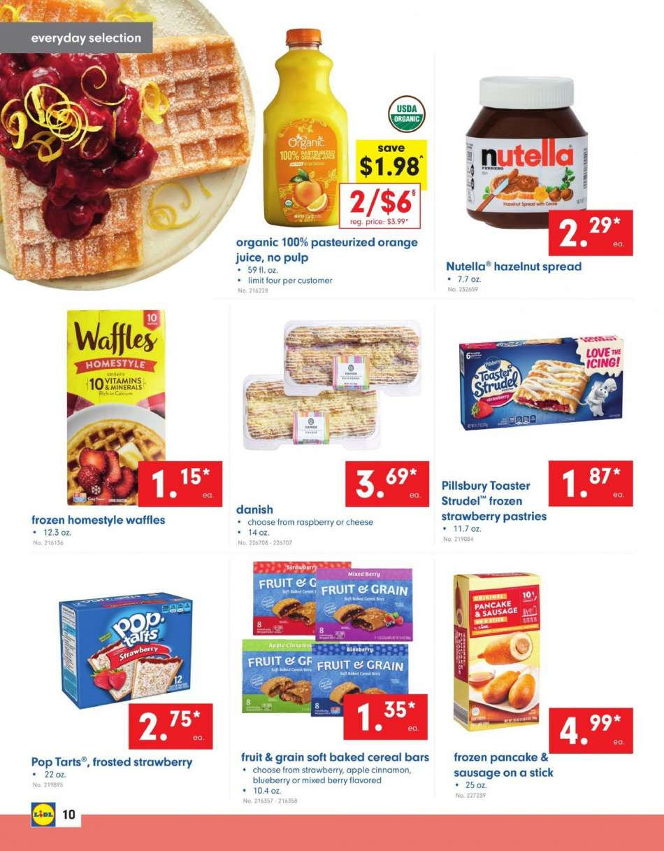 Lidl flyer 08 07 2019 - 08 13 2019 | Weekly-ads us
