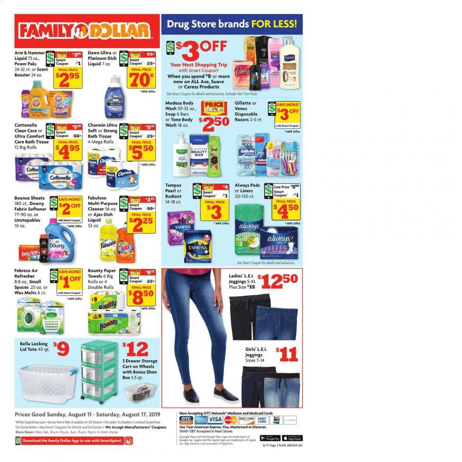 Family Dollar flyer 08 11 2019 - 08 17 2019 | Weekly-ads us