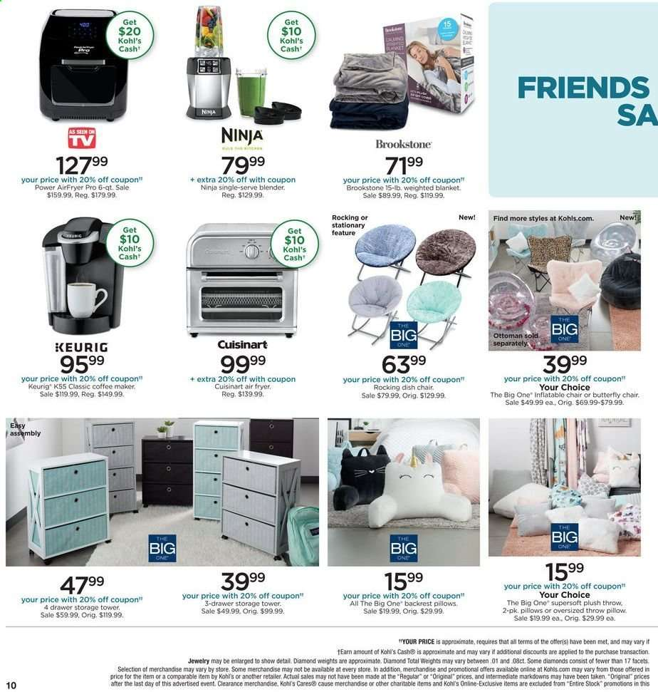 Brilliant Kohls Flyer 08 15 2019 08 18 2019 Weekly Ads Us Cjindustries Chair Design For Home Cjindustriesco