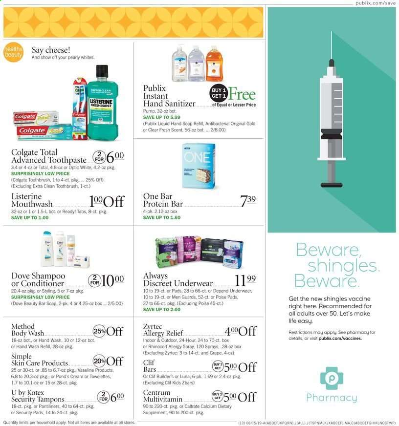 Publix flyer 08 15 2019 - 08 21 2019 | Weekly-ads us