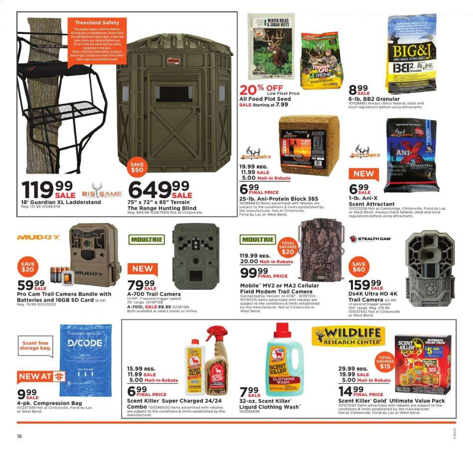 Fleet Farm Coupons >> Fleet Farm Flyer 08 16 2019 08 24 2019 Weekly Ads Us