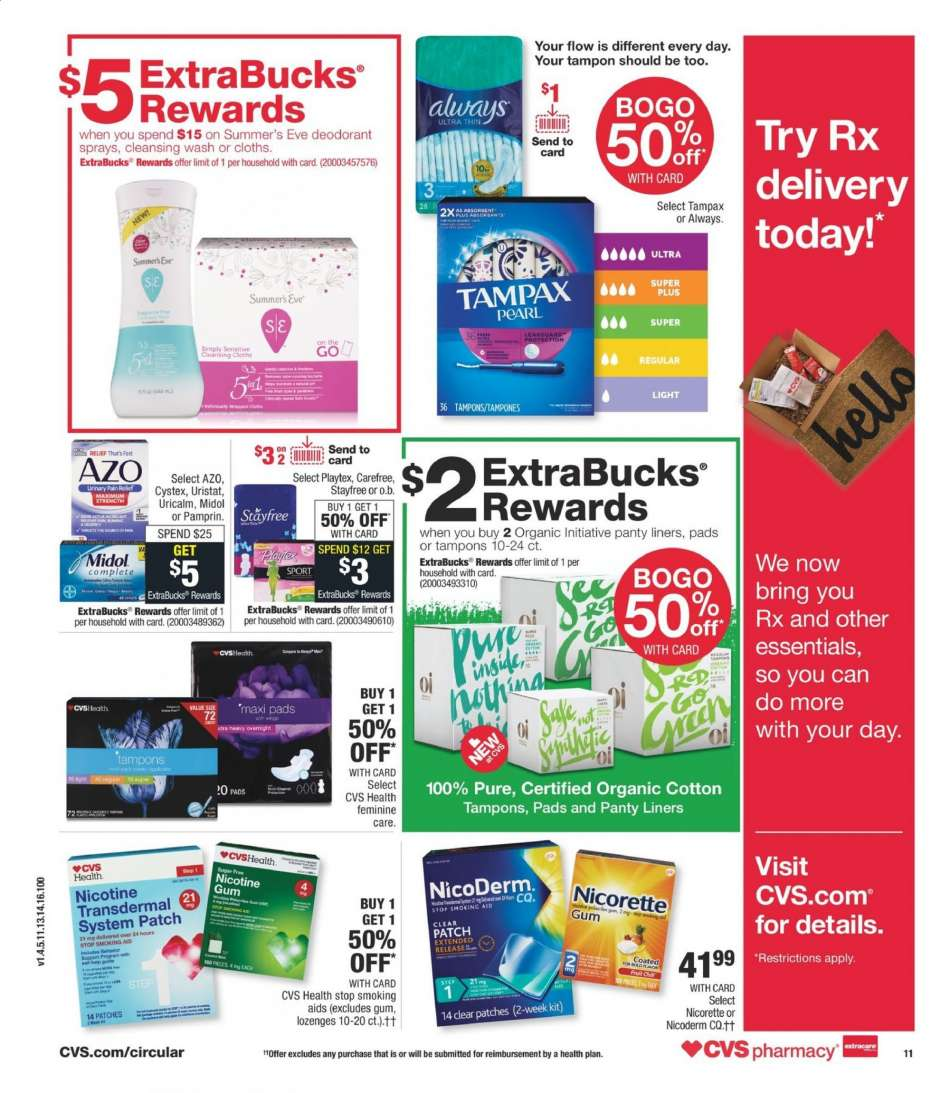 CVS Pharmacy flyer 08 18 2019 - 08 24 2019 | Weekly-ads us