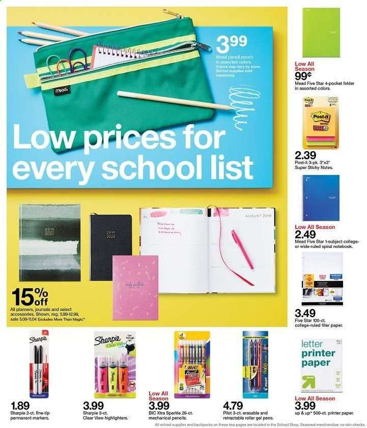 Target flyer 08 18 2019 - 08 24 2019 | Weekly-ads us