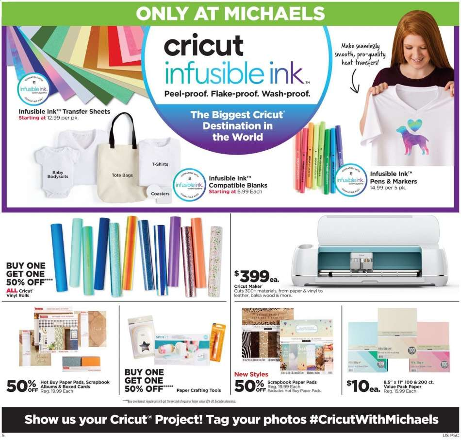 Michaels flyer 08 18 2019 - 08 24 2019 | Weekly-ads us