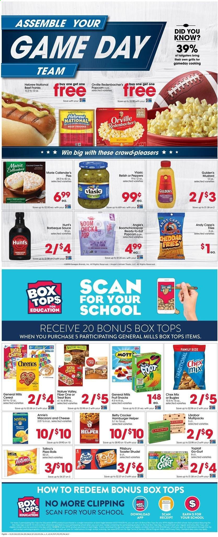 Giant Eagle Flyer  - 08.22.2019 - 08.28.2019. Page 6.