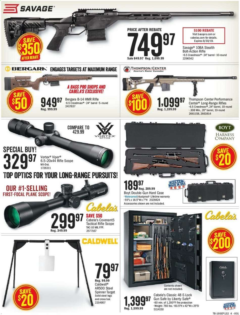 Bass Pro Shops flyer 08 26 2019 - 09 08 2019 | Weekly-ads us