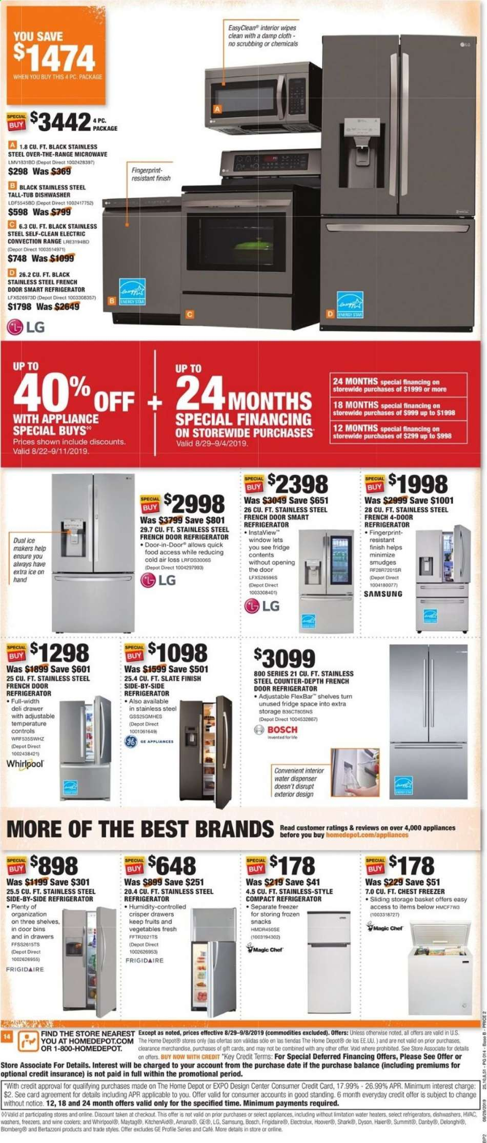 The Home Depot flyer 08 29 2019 - 09 08 2019 | Weekly-ads us