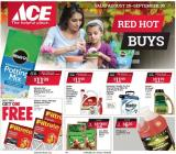 ACE Hardware Flyer - 08.28.2019 - 09.30.2019.