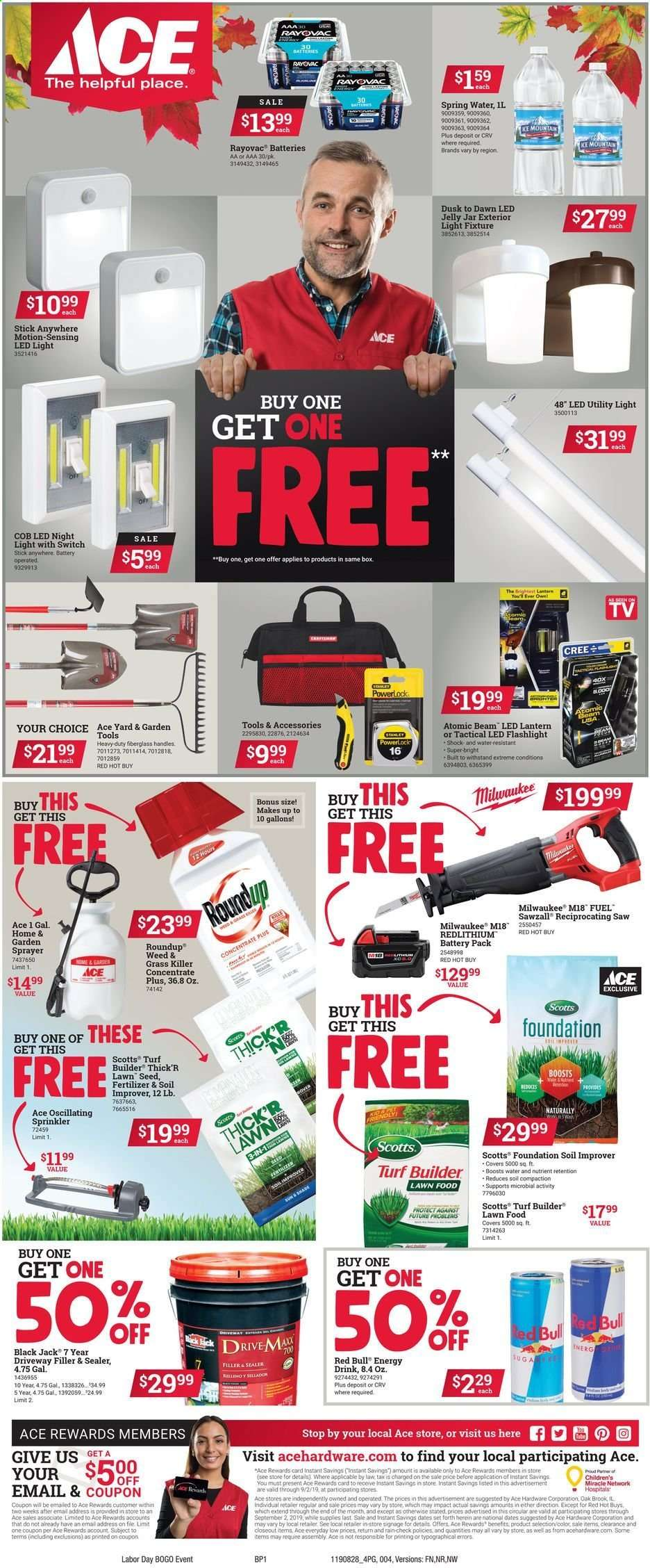 ACE Hardware flyer 08 28 2019 - 09 02 2019 | Weekly-ads us