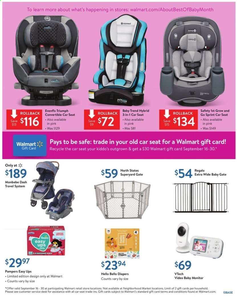Walmart flyer 08 30 2019 - 09 14 2019 | Weekly-ads us