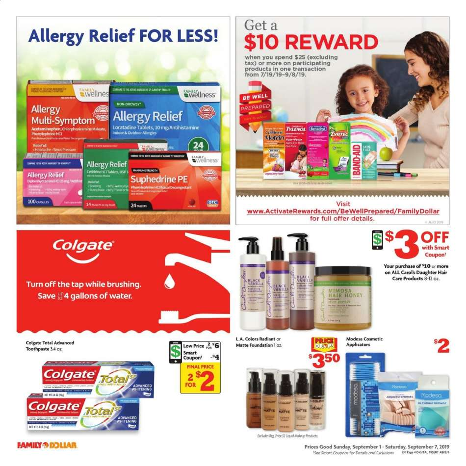 Family Dollar flyer 09 01 2019 - 09 07 2019 | Weekly-ads us
