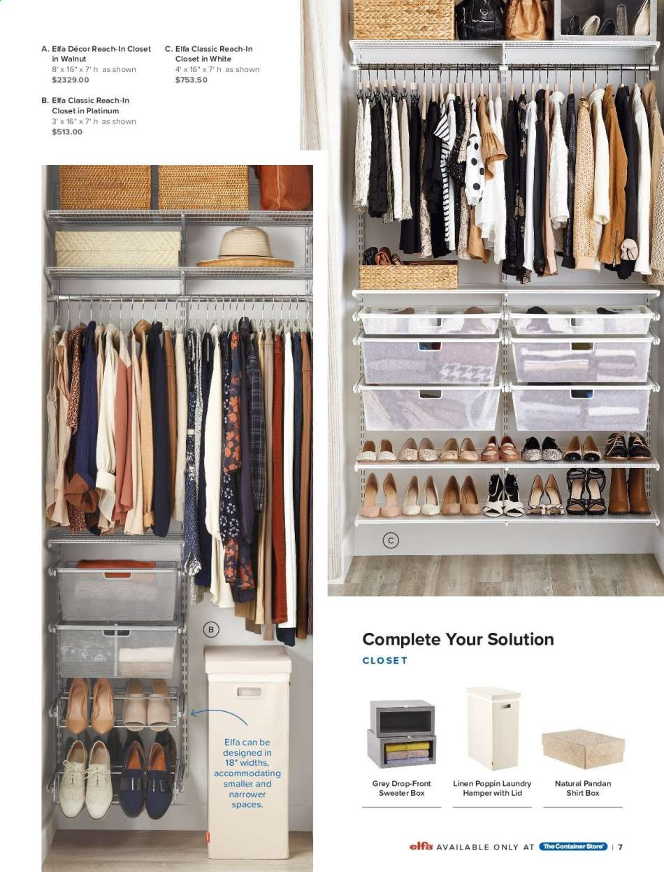 The Container Store Flyer 09 01 2019 12 25 2019 Weekly