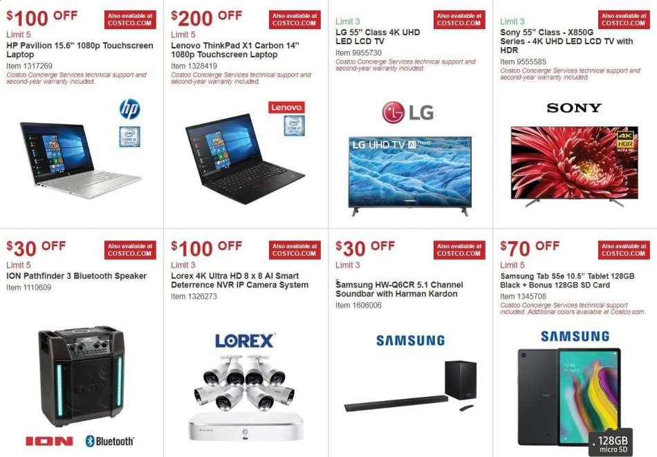 Costco flyer 09 04 2019 - 09 29 2019   Weekly-ads us