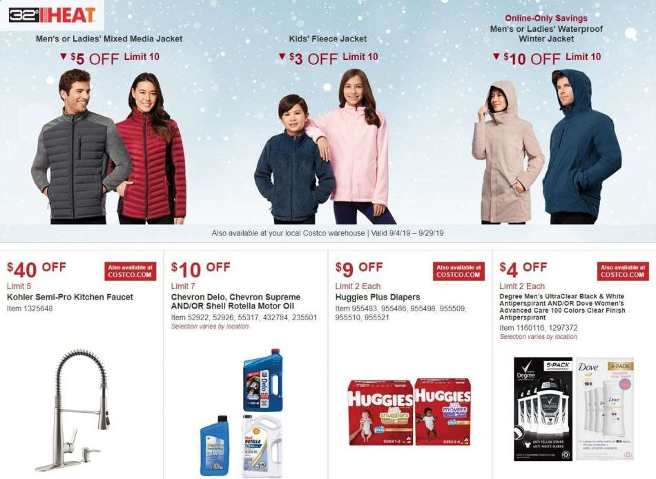 Costco flyer 09 04 2019 - 09 29 2019 | Weekly-ads us
