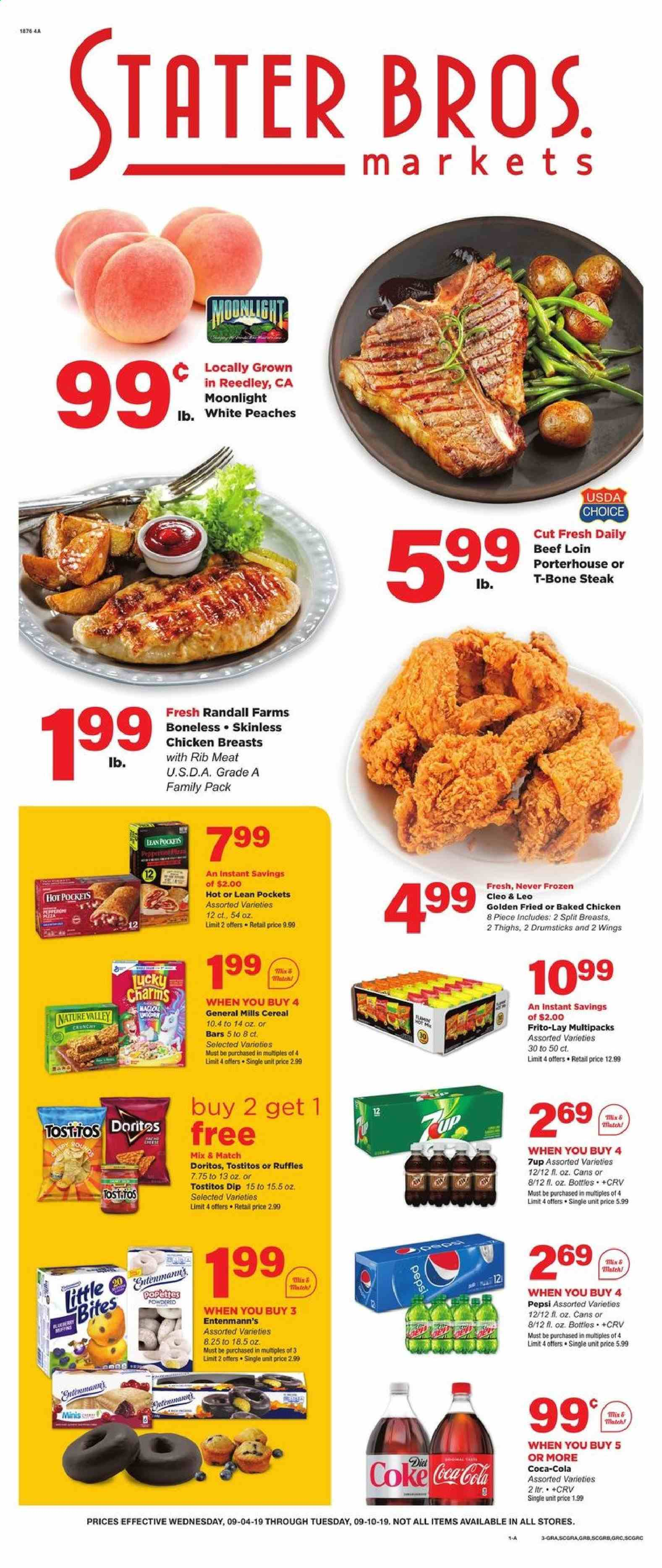 Stater Bros. Flyer  - 09.04.2019 - 09.10.2019. Page 1.
