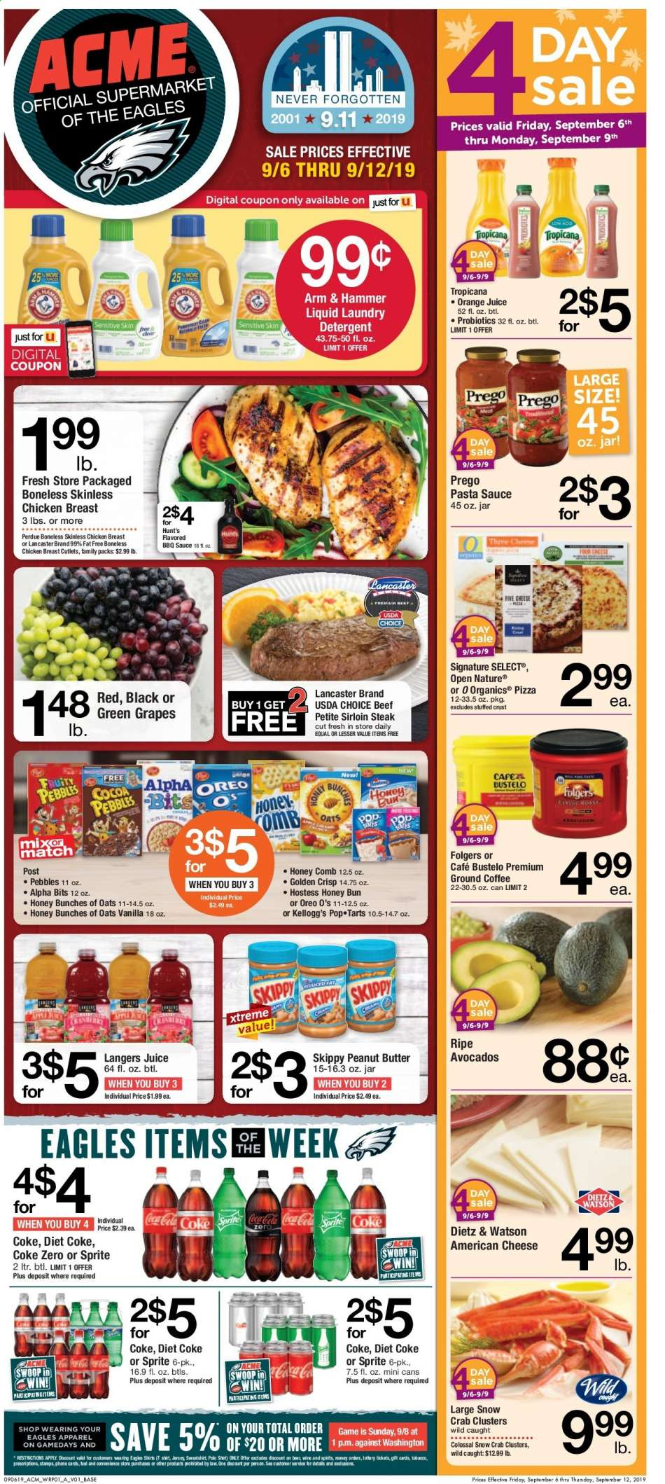 ACME flyer 09 06 2019 - 09 12 2019 | Weekly-ads us