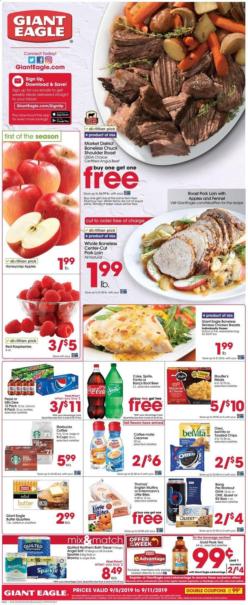 Giant Eagle Flyer  - 09.05.2019 - 09.11.2019. Page 1.