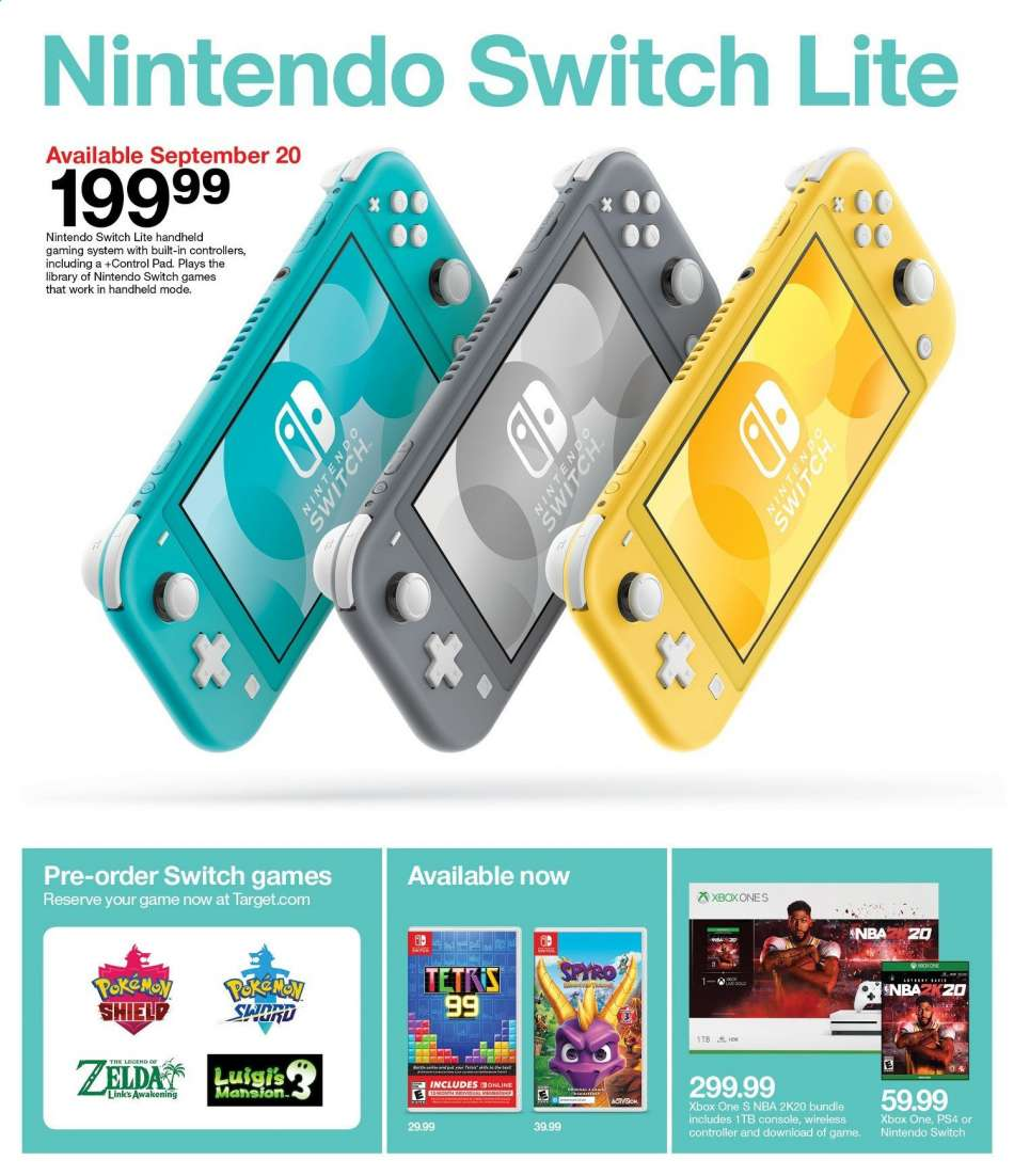 Target flyer 09 08 2019 - 09 14 2019 | Weekly-ads us