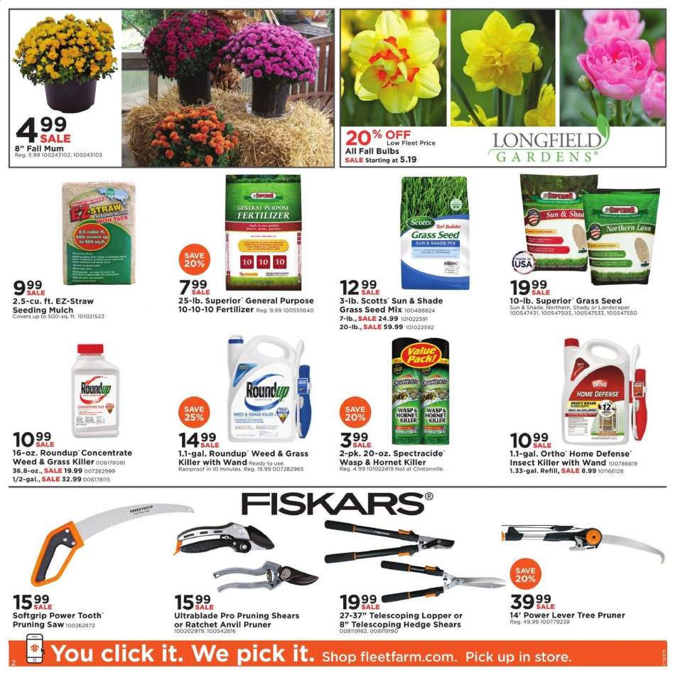 Fleet Farm flyer 09 06 2019 - 09 14 2019 | Weekly-ads us