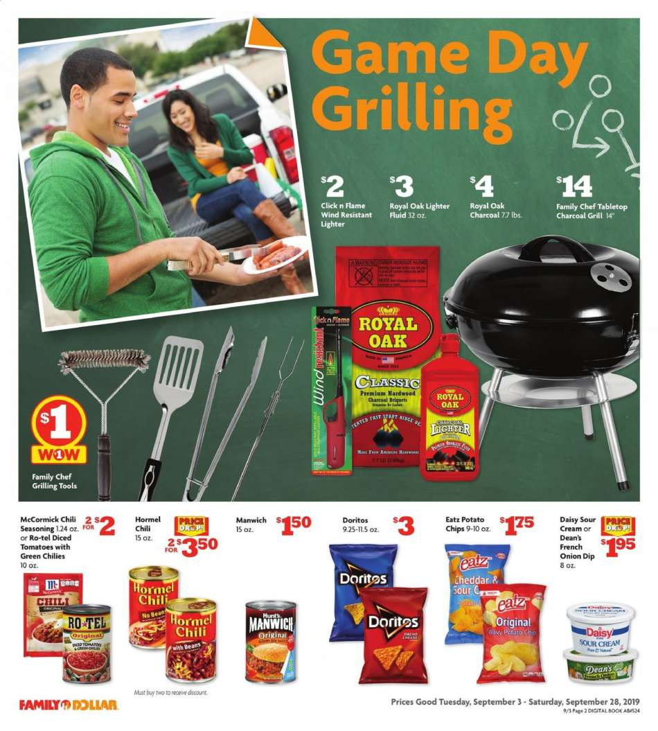Family Dollar flyer 09 08 2019 - 09 14 2019 | Weekly-ads us