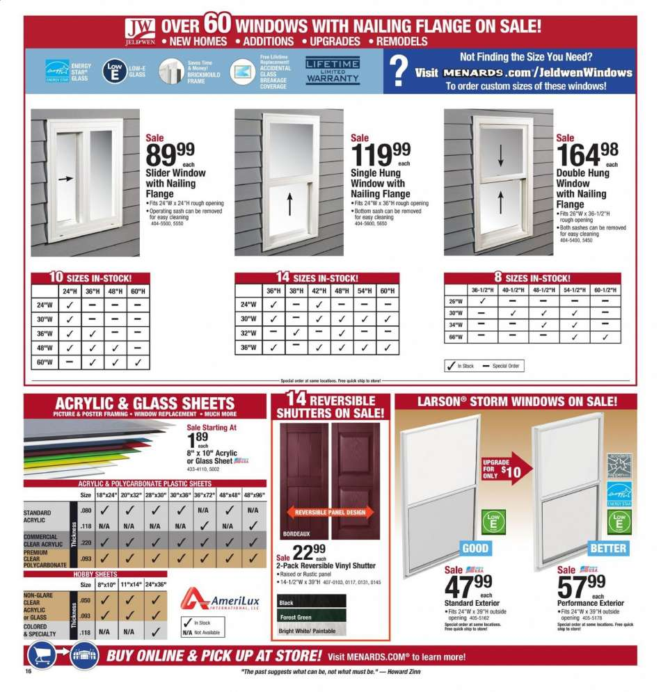 Menards flyer 09 08 2019 - 09 21 2019 | Weekly-ads us