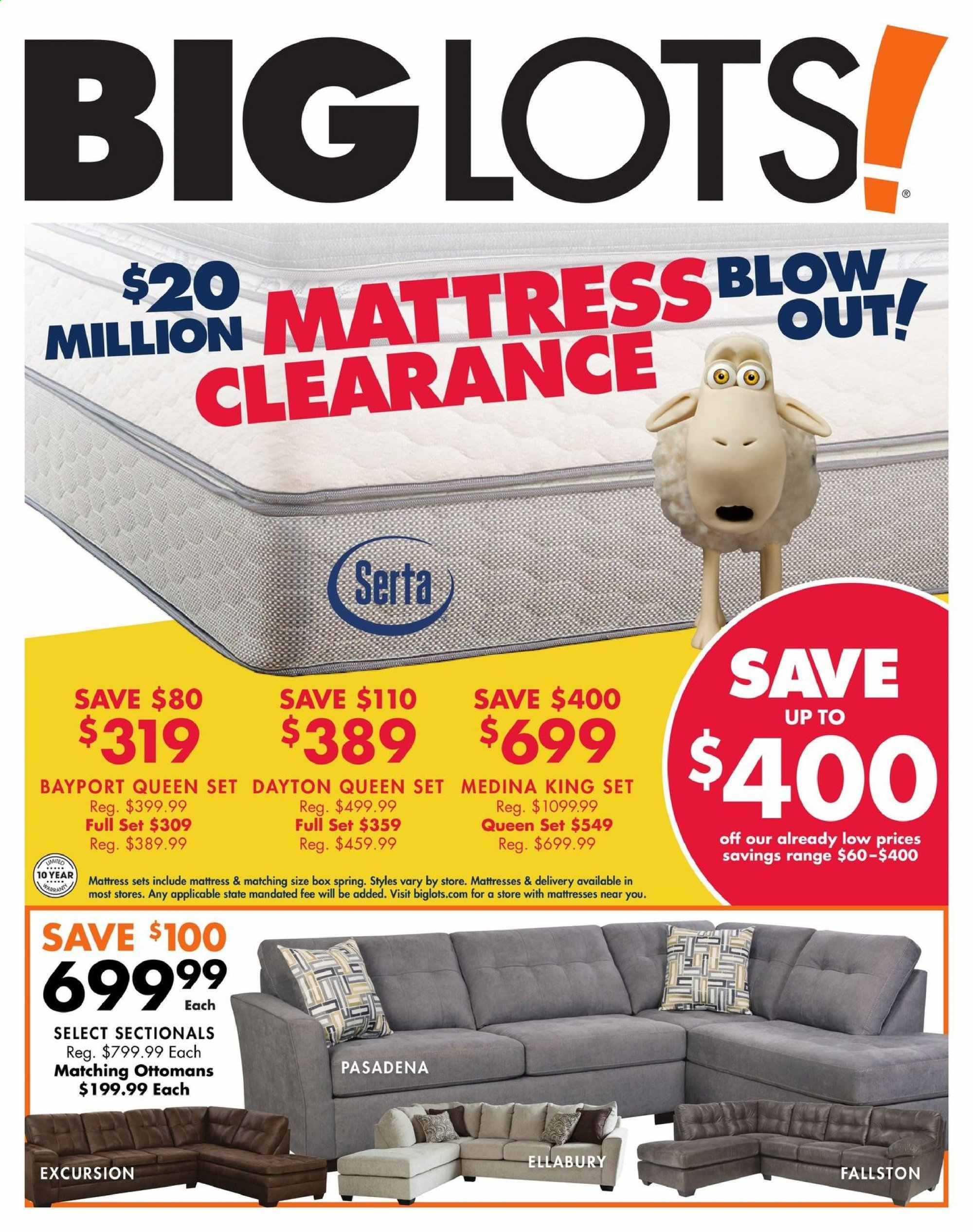 Big Lots Flyer 09 14 2019 09 21 2019 Page 1 Weekly Ads