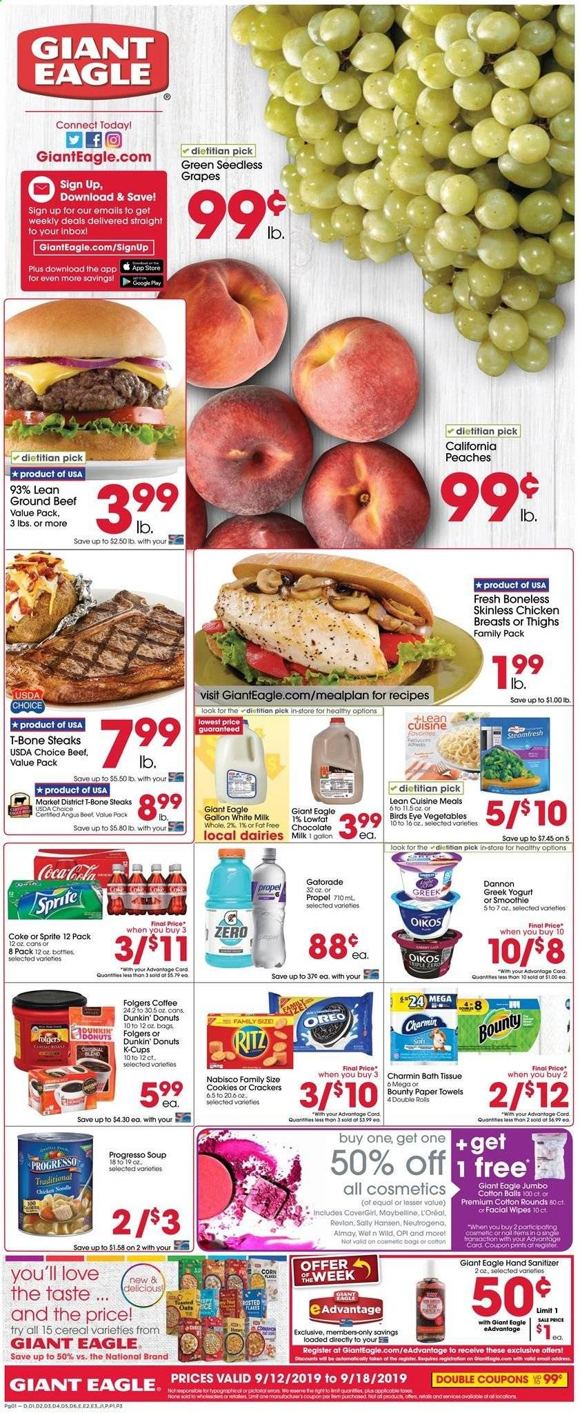 Giant Eagle Flyer  - 09.12.2019 - 09.18.2019. Page 1.