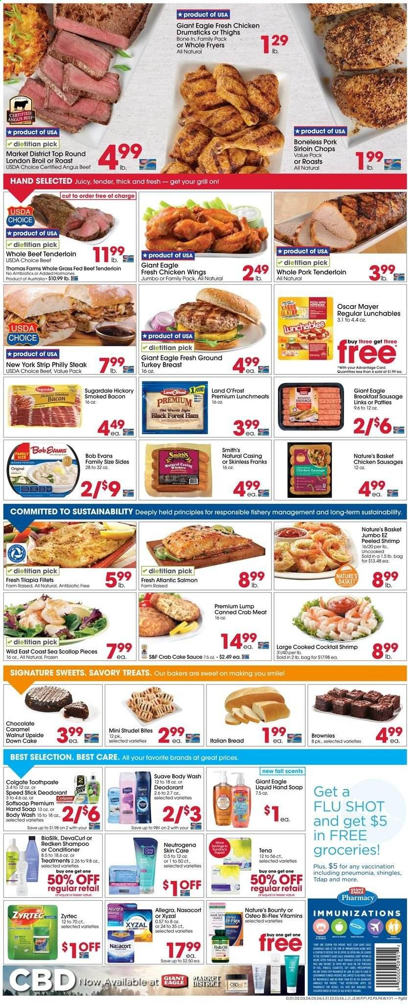Giant Eagle Flyer  - 09.12.2019 - 09.18.2019. Page 3.