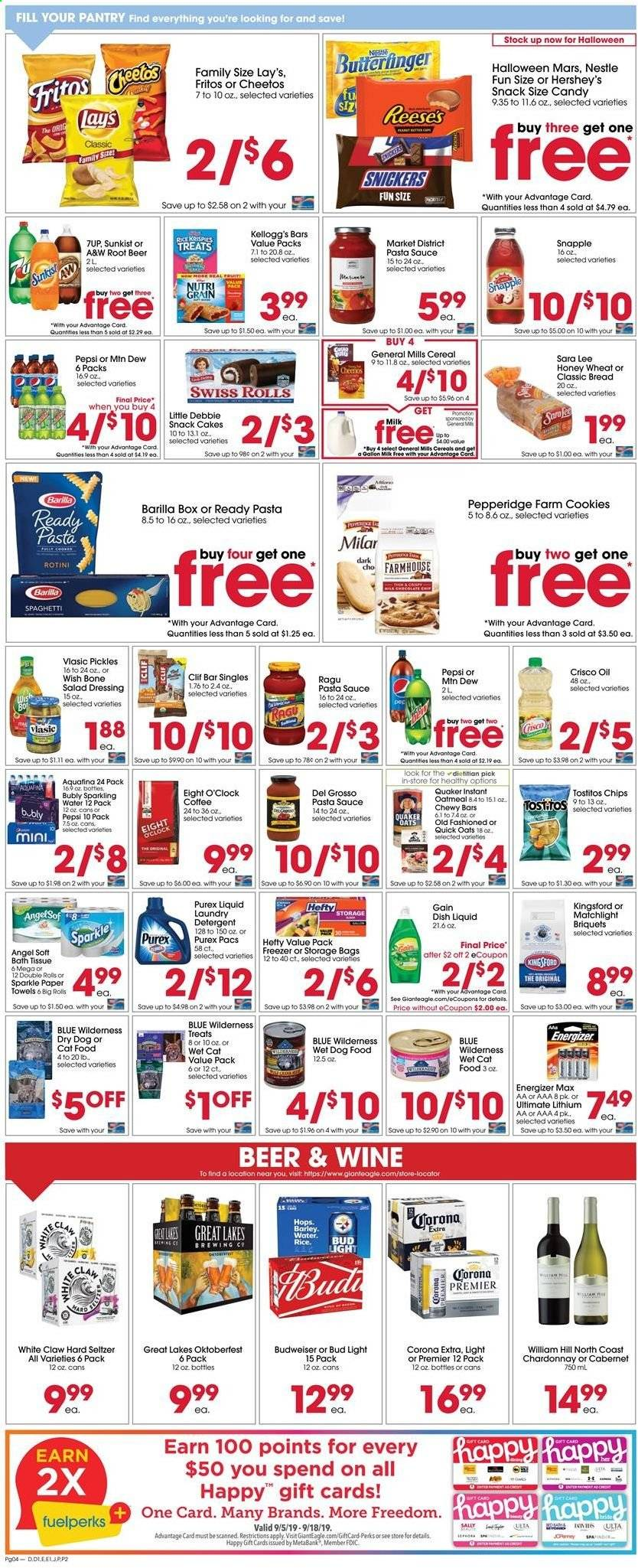 Giant Eagle Flyer  - 09.12.2019 - 09.18.2019. Page 4.