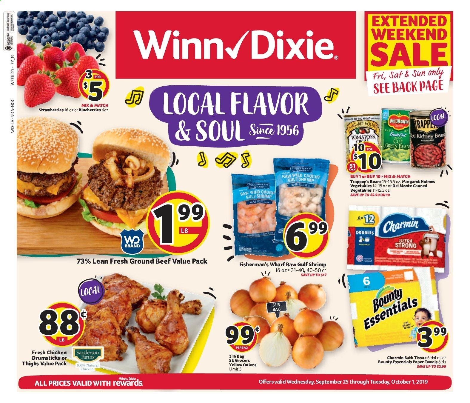 Winn Dixie Flyer  - 09.25.2019 - 10.01.2019. Page 1.