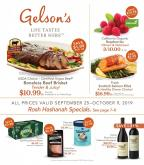 Gelson's Flyer - 09.25.2019 - 10.09.2019.