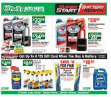 O'Reilly Auto Parts Flyer - 09.25.2019 - 10.29.2019.