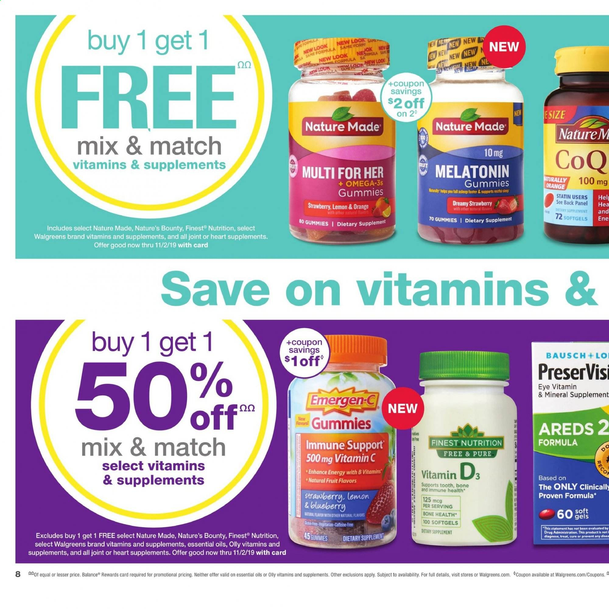 Walgreens Flyer 09 29 2019 10 05 2019 Weekly Ads