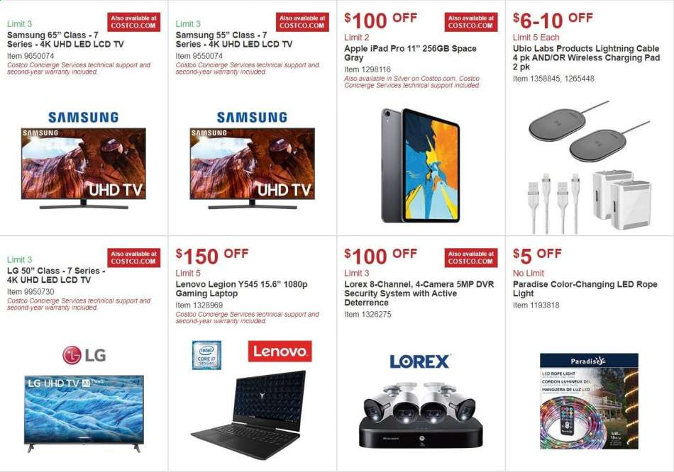 Costco Flyer 10 02 2019 10 27 2019 Weekly Ads Us