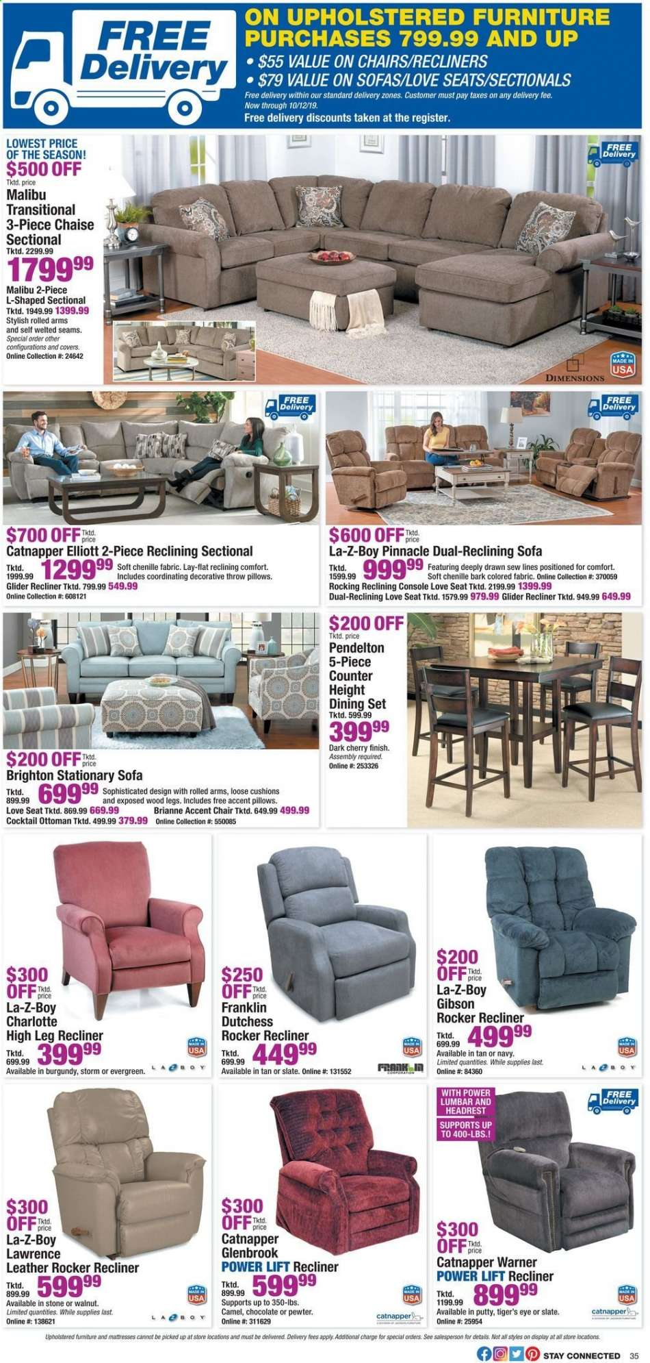 Fantastic Boscovs Flyer 10 04 2019 10 14 2019 Weekly Ads Us Gmtry Best Dining Table And Chair Ideas Images Gmtryco