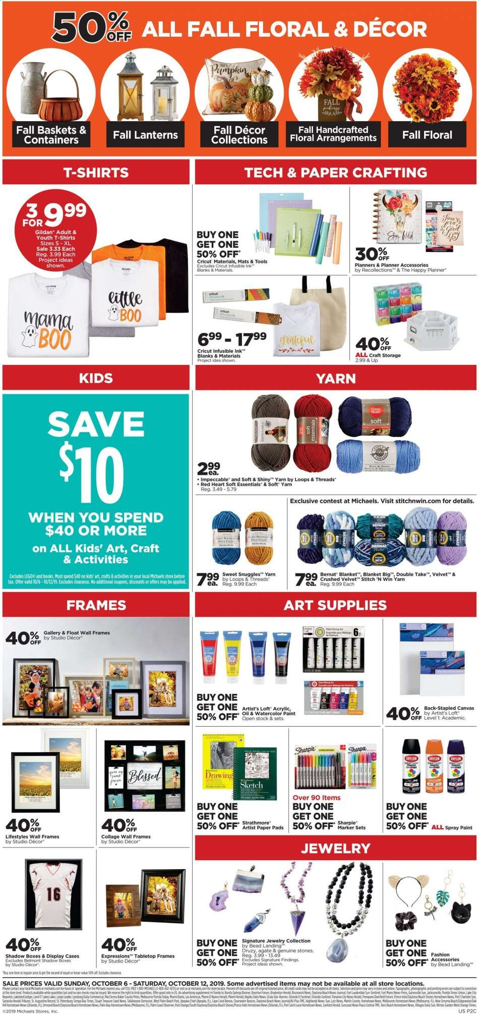 Michaels Flyer 10 06 2019 10 12 2019 Weekly Ads Us